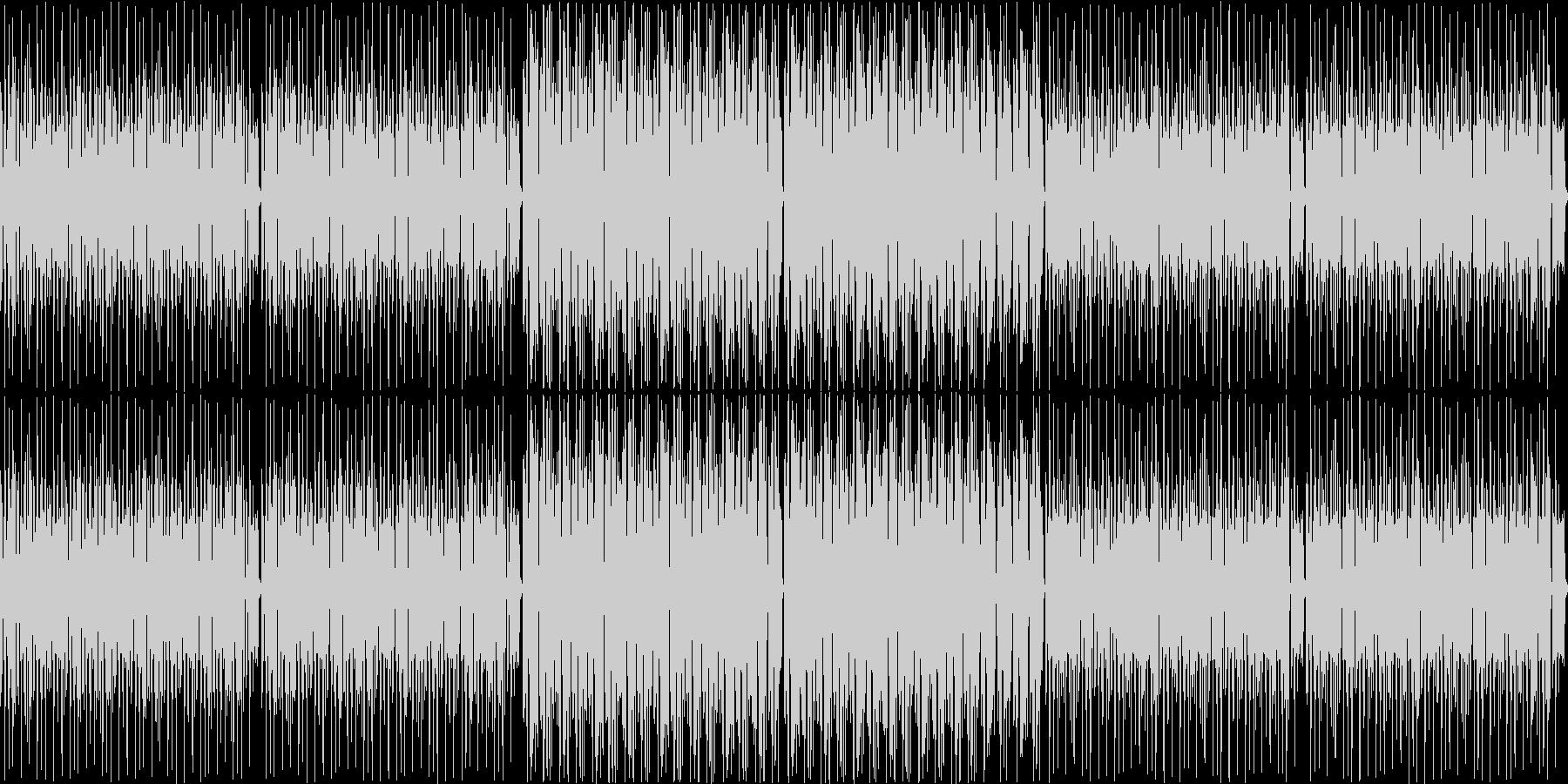 レゲエの未再生の波形