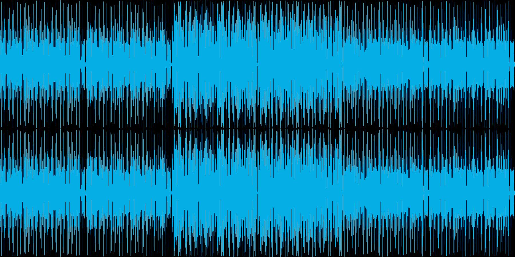 レゲエの再生済みの波形