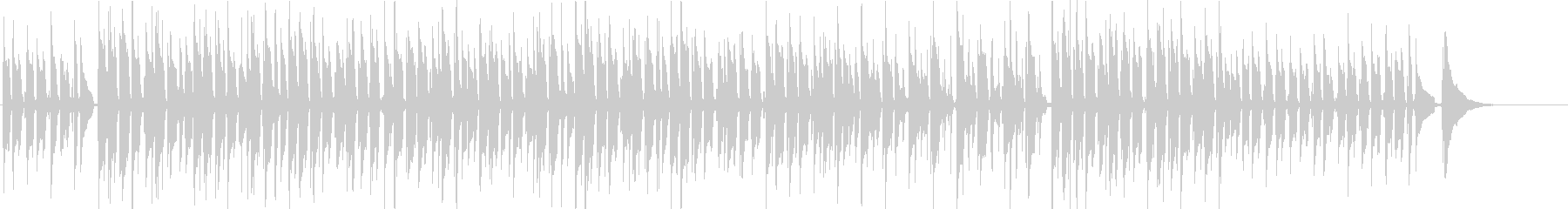 アコギ 生演奏 ラブミーテンダーの未再生の波形