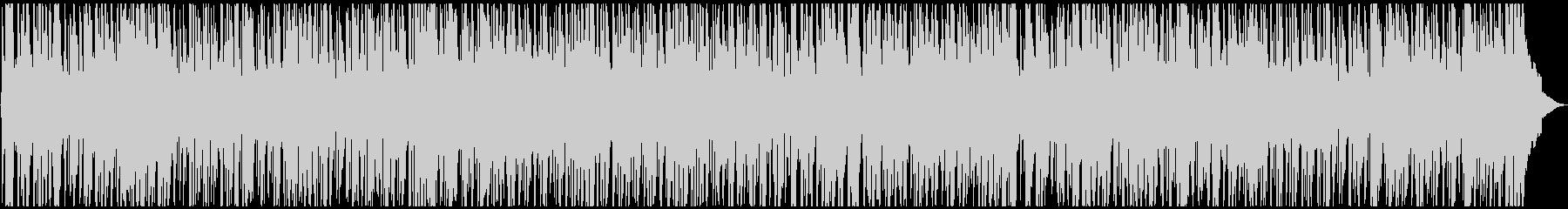 爽やか、軽快なPOP調BGMの未再生の波形