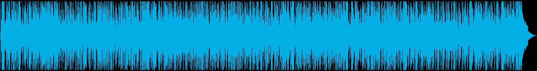 爽やか、軽快なPOP調BGMの再生済みの波形