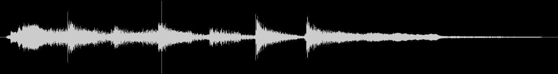 ★口笛メロディーの生音を使用したジングルの未再生の波形