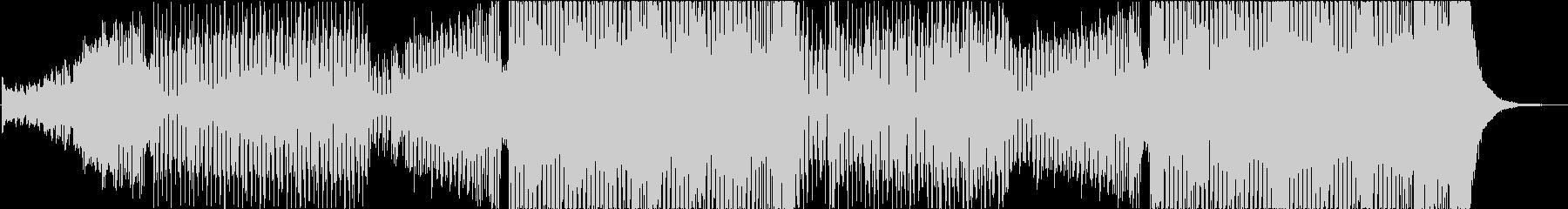 パワフルなブラスが入った洋楽風EDMの未再生の波形