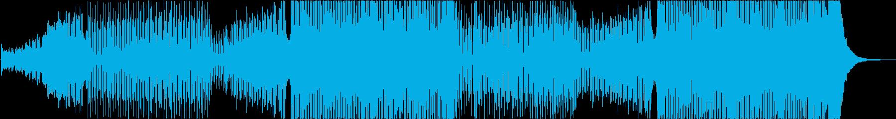 パワフルなブラスが入った洋楽風EDMの再生済みの波形