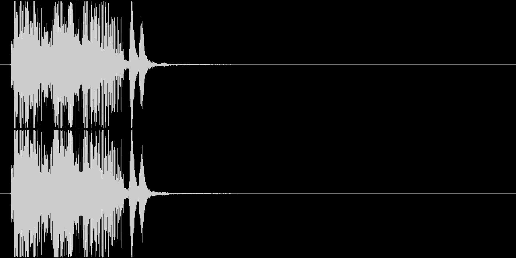 「パーフェクト」ゲーム・アプリ用2の未再生の波形