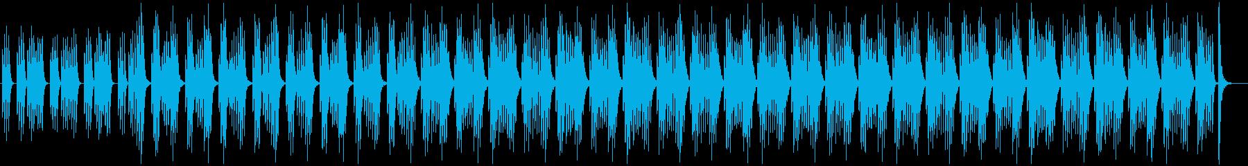 ミニマル・シンプル・リラックス・かわいいの再生済みの波形