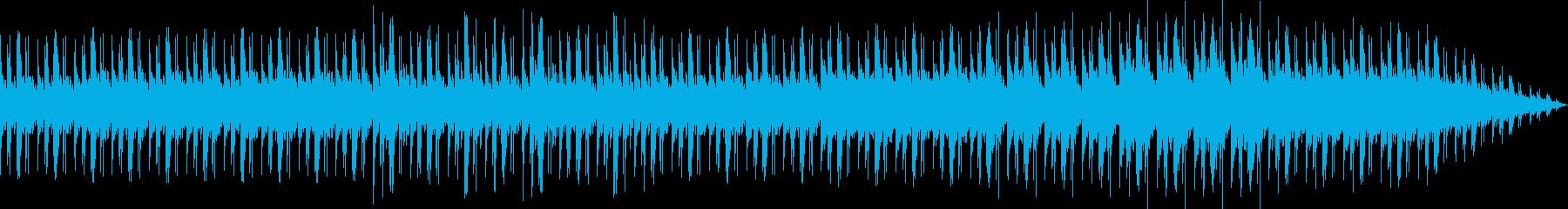 穏やかな午後のようなアコースティック曲の再生済みの波形