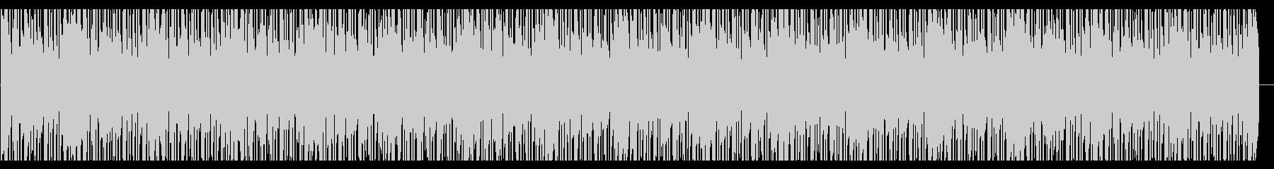 浮遊感のあるシンセが印象的なヒップホップの未再生の波形