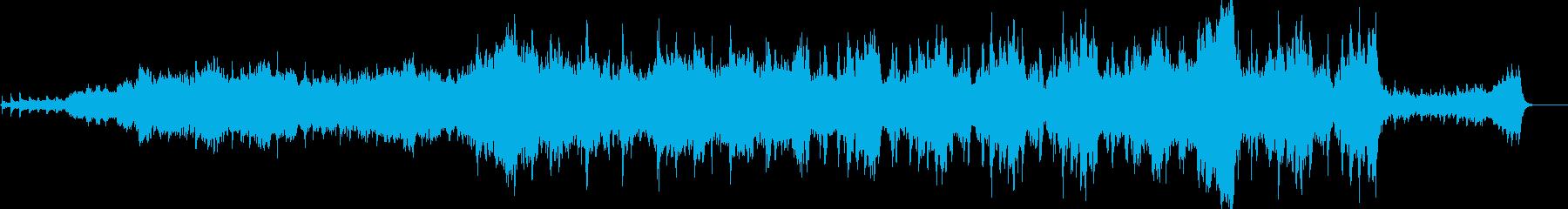映像等に合うしっとりしたオーケストラ楽曲の再生済みの波形
