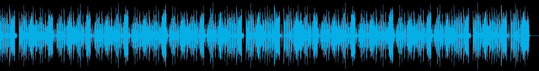 エレキギター・キャンプ・楽しい・秋の再生済みの波形