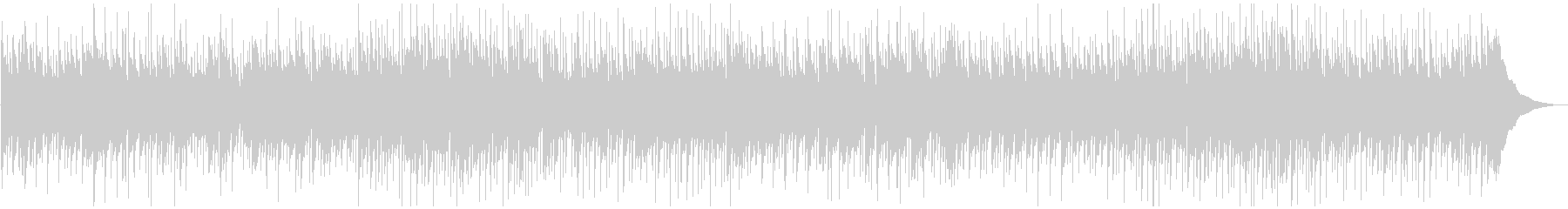 カントリー系のスローバラードの未再生の波形
