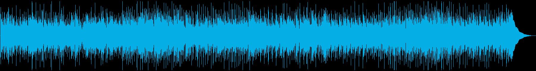カントリー系のスローバラードの再生済みの波形