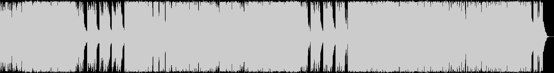 ハロウィン系BGM ポップにミステリアスの未再生の波形