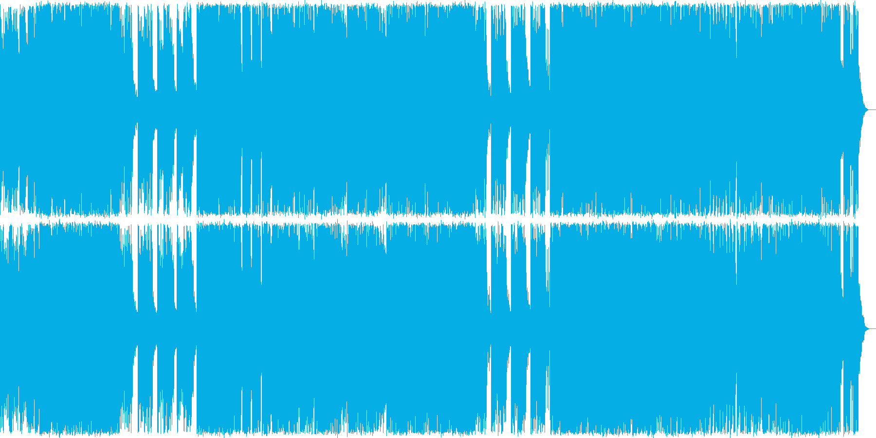 ハロウィン系BGM ポップにミステリアスの再生済みの波形