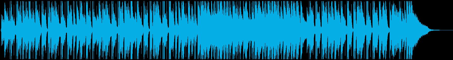 セクシーな大人のお洒落ジャズ(短め)の再生済みの波形