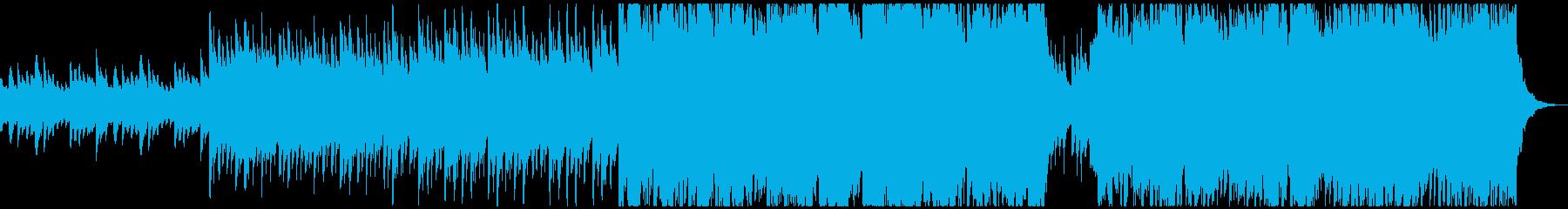 60秒 片想いのワルツ・ピアノバイオリンの再生済みの波形