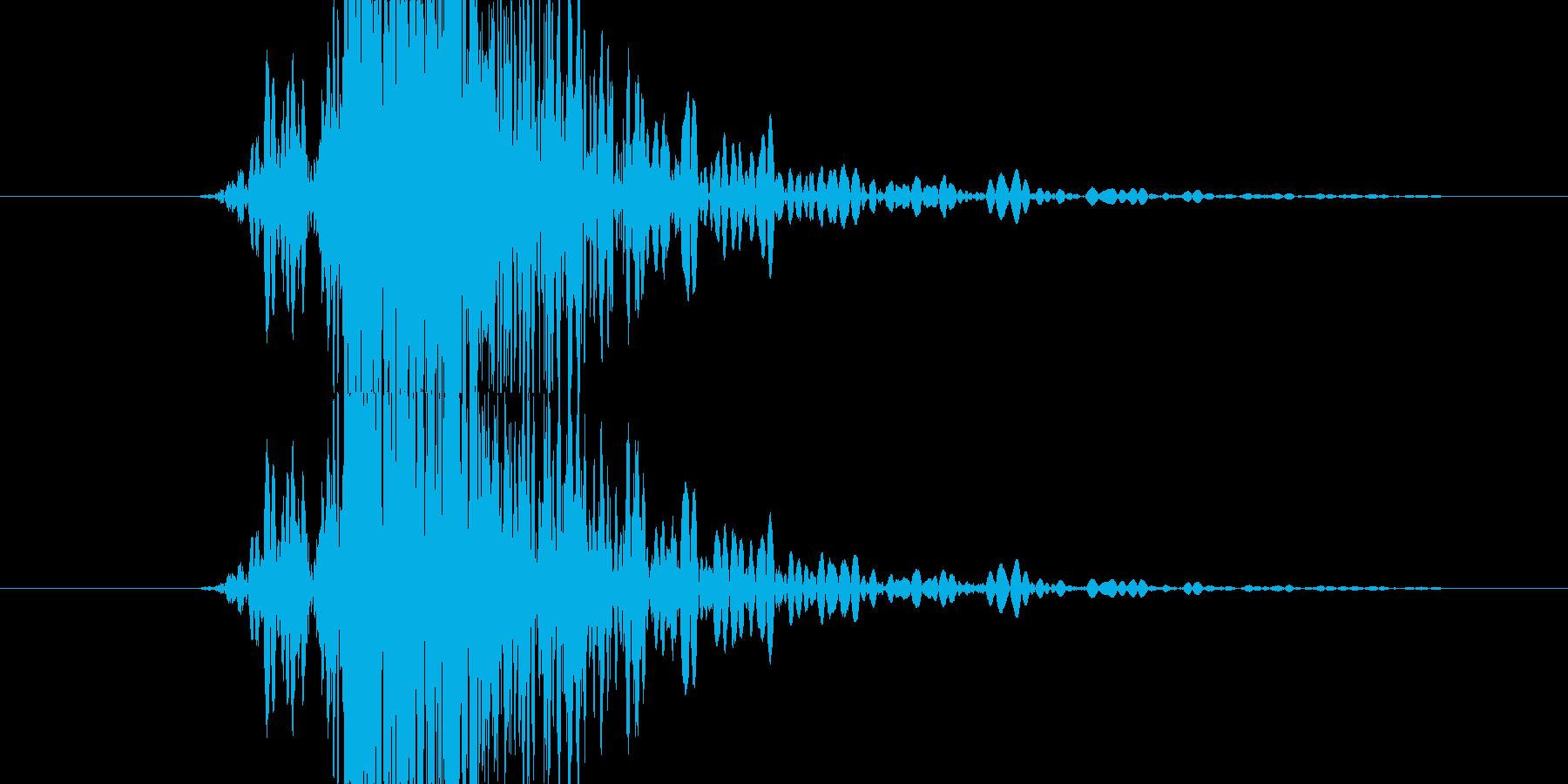 中世 ヒットシールドウッド06の再生済みの波形