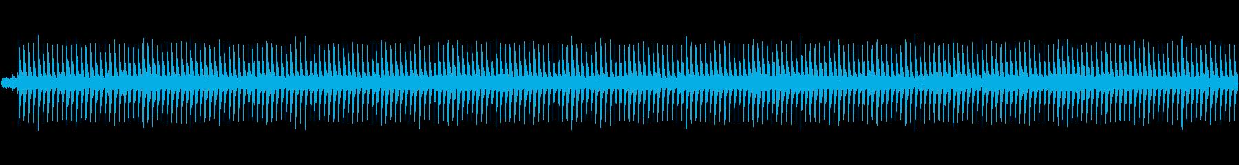 ホラー風BGM -逃走- ループ素材の再生済みの波形