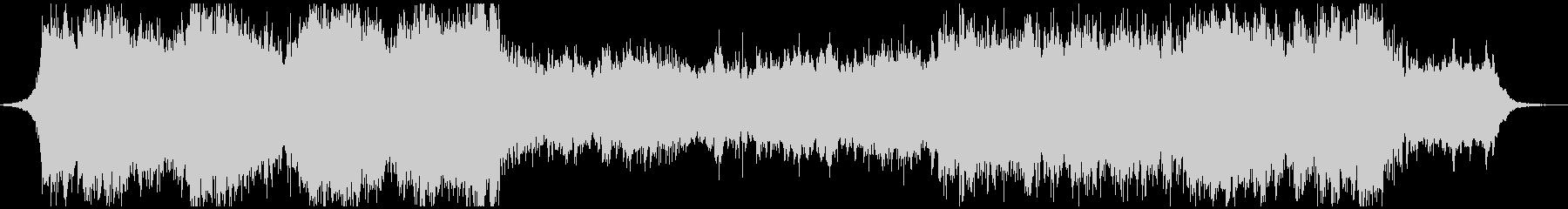 北欧風オーケストラアンビエント 60秒版の未再生の波形