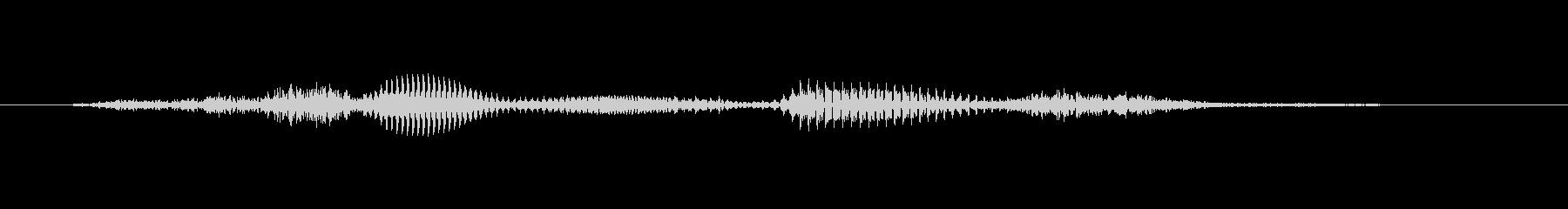 【時報・時報】7時です (しち)の未再生の波形