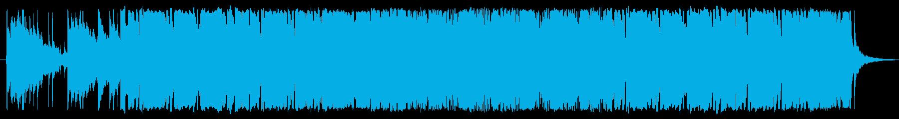 70年代学園ドラマ風BGMその4の再生済みの波形
