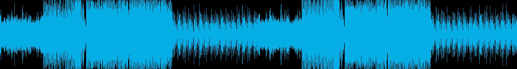 感動的・切ない・エンディング・EDMの再生済みの波形