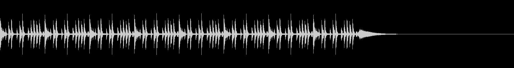 ニュース1(約30秒 ループ可)の未再生の波形