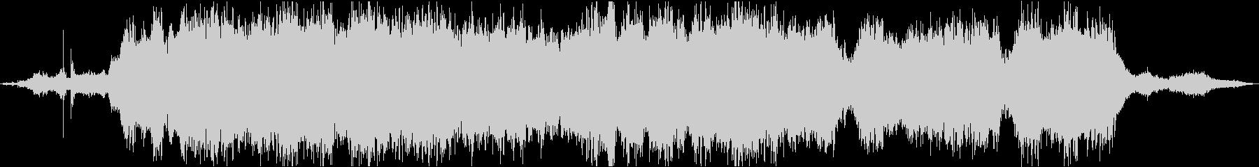 波の音とストリングスの癒し系BGMの未再生の波形