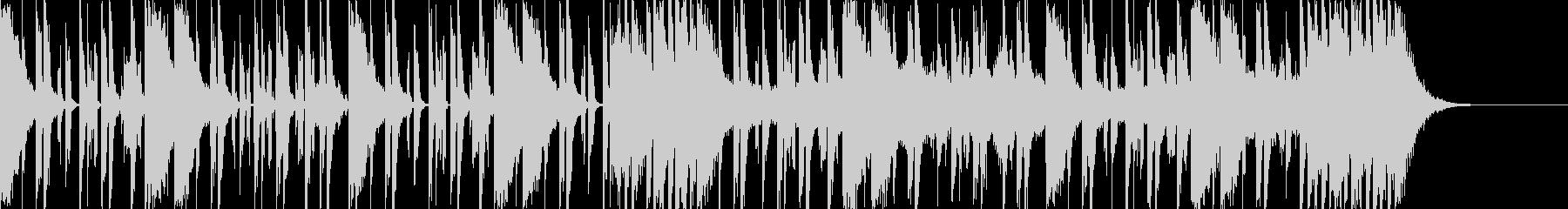 ダークなブラスとスクラッチヒップホップeの未再生の波形