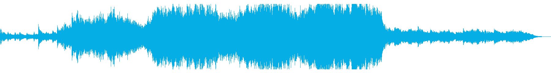 Sky Blue 60秒打楽器無しの再生済みの波形