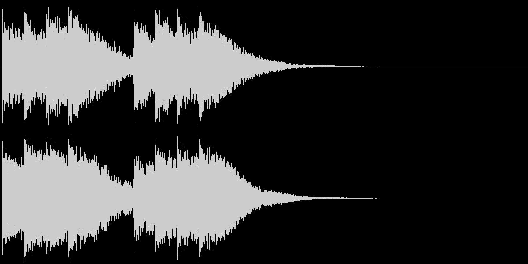 キンコン..。学校のチャイムH(高・短)の未再生の波形