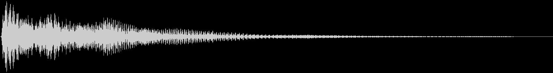 選択音、決定音など 宇宙風D ブオーンの未再生の波形