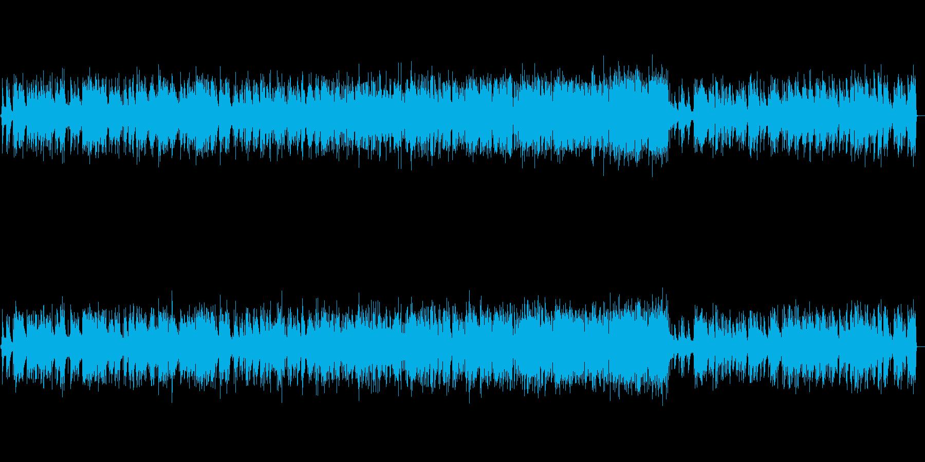 少し怪しい雰囲気のワルツの再生済みの波形