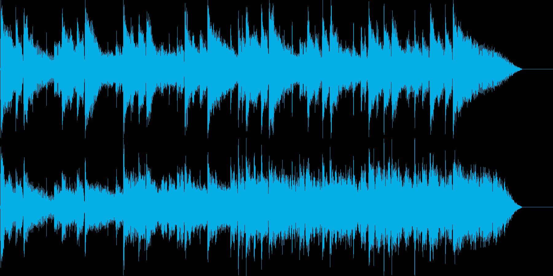 アコギを使用した切ない短めEndingの再生済みの波形
