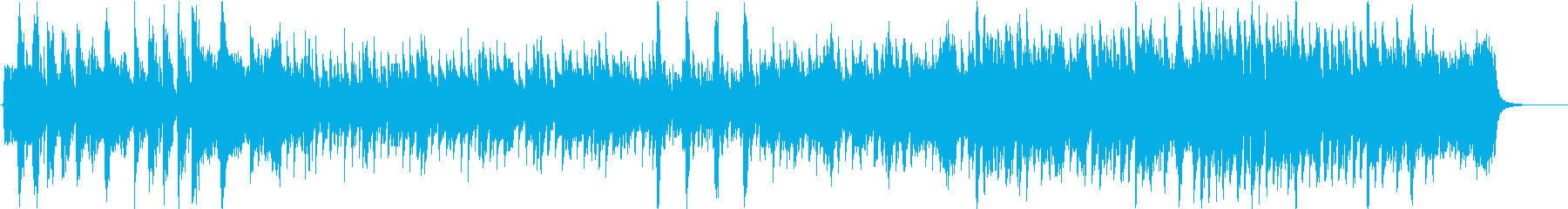 Bright, refreshing, slightly comical Japanese style song's reproduced waveform