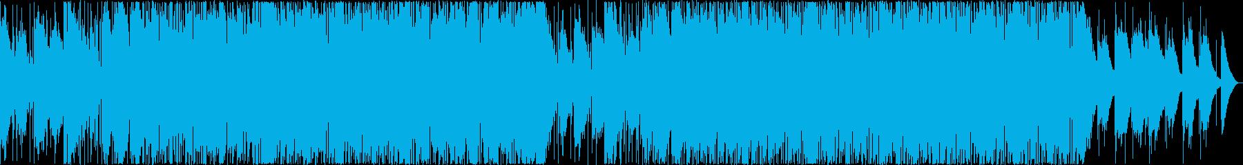 大人っぽいおしゃれなAORバラードの再生済みの波形