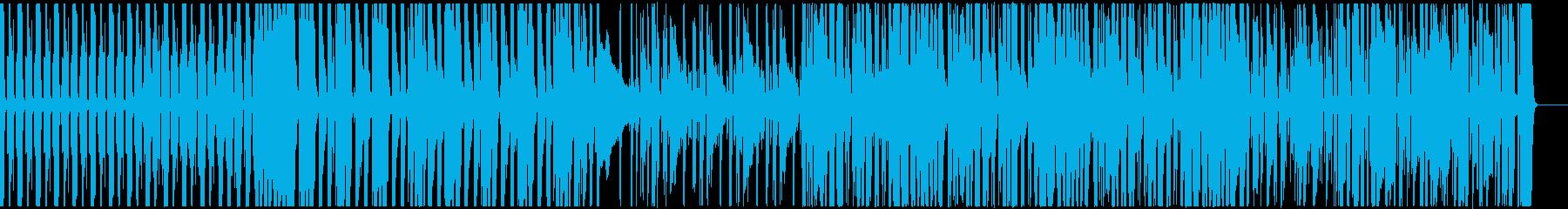 アコースティックギター・スラップ・ロックの再生済みの波形