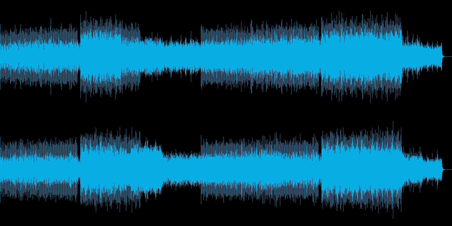 バトル感・勢い・圧のあるテクノサウンドの再生済みの波形