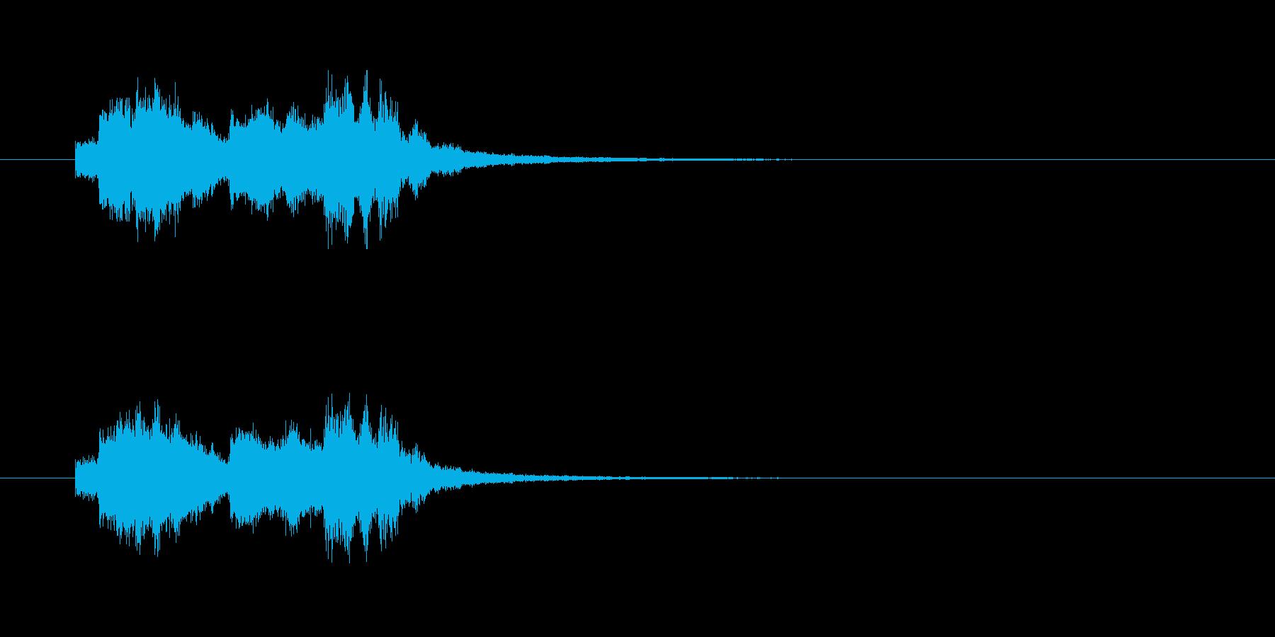 【おしおきよ!】アイドル風アイキャッチ の再生済みの波形