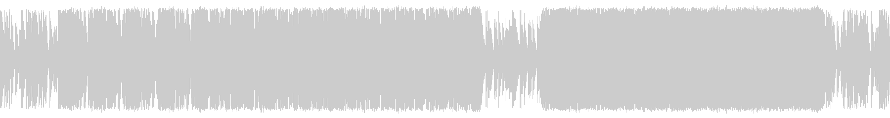 悪が蔓延る独裁サイコの進軍 ループ仕様の未再生の波形