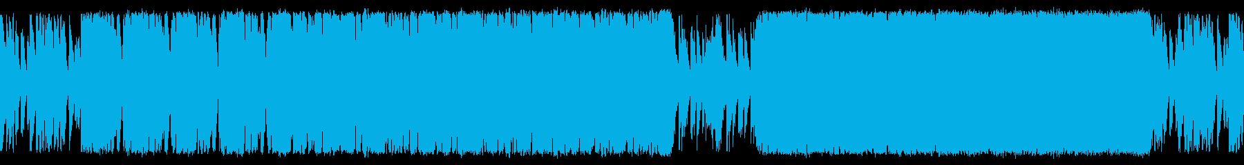 悪が蔓延る独裁サイコの進軍 ループ仕様の再生済みの波形