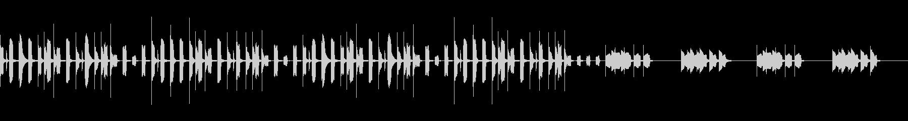 YouTube・料理・ほのぼの・日常系の未再生の波形