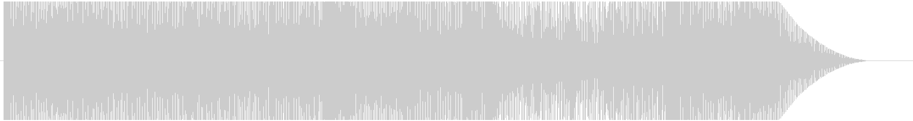 Loop song of game ・ battle type thing's unreproduced waveform