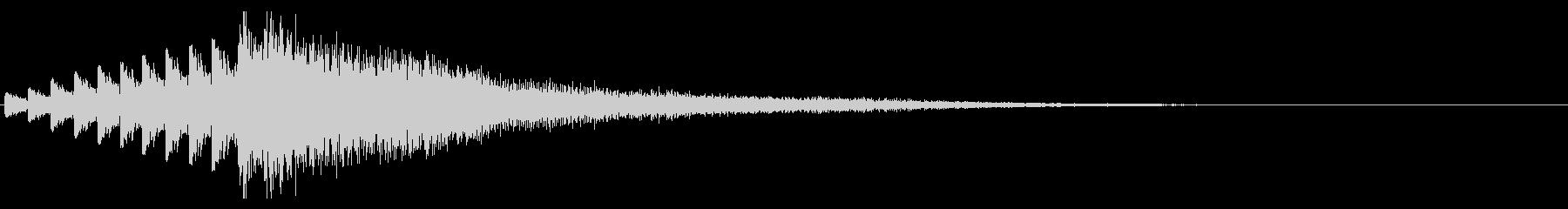 持続文字列パッドへのドラムの未再生の波形