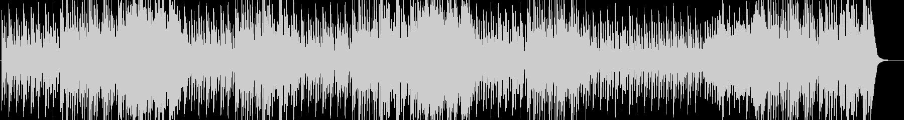 軽快なボヘミアンワルツの未再生の波形