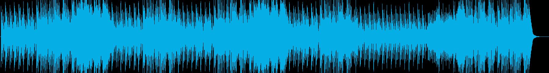 軽快なボヘミアンワルツの再生済みの波形