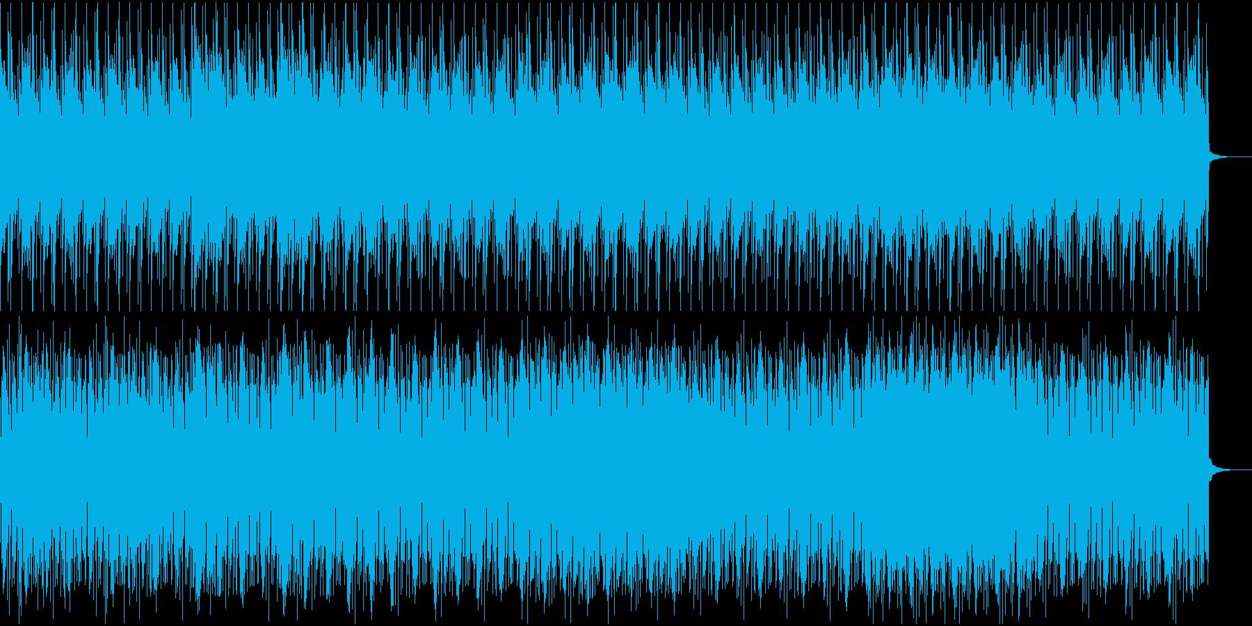 サスペンス・危険が迫るような曲の再生済みの波形