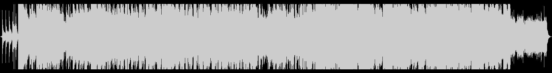 バブリーロックの未再生の波形