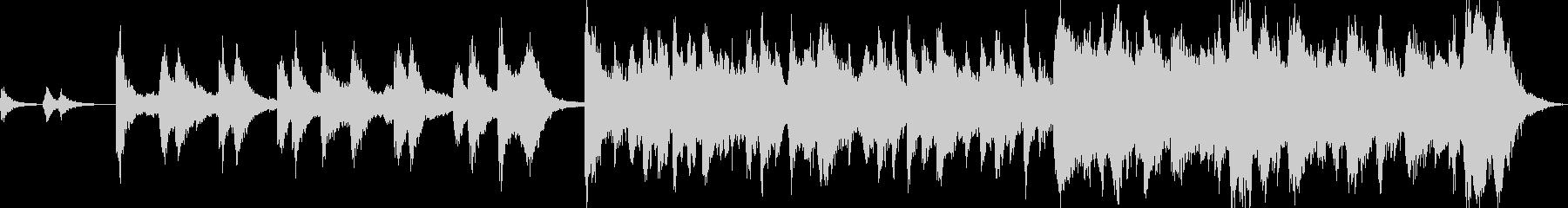 怪しくコミカルなハロウィンBGMの未再生の波形