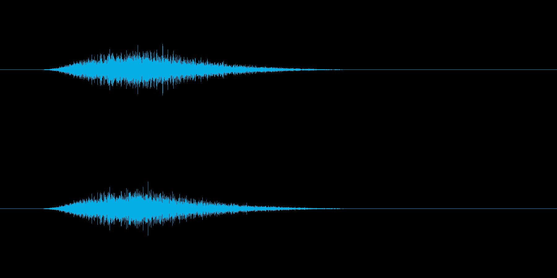 【ショートブリッジ31-3】の再生済みの波形